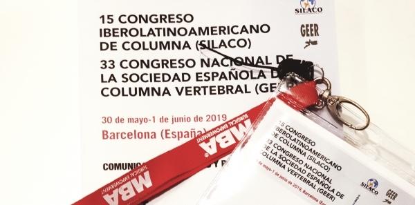 Congreso Columna Vertebral Barcelona Doctor Alberto Hernandez